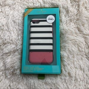NWT Kate Spade iPhone 8 credit card case